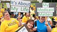 medicaid rally