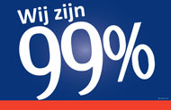 Dutch 99% Sign