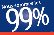 French 99% Sign
