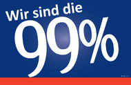 German 99% Sign