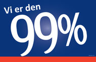 Norwegian 99% Sign