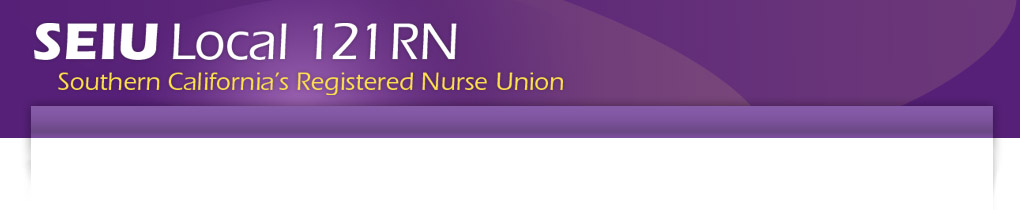 SEIU Local 121RN Southern California's Registered Nurse Union
