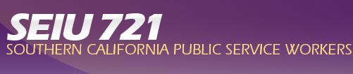SEIU 721, Southern California public service workers